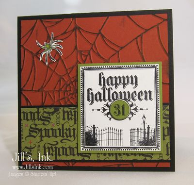 Dark & Dreary Halloween Card