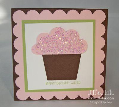 Amy's Cupcake Card 3