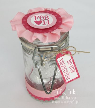 Filled with Love Candy Jar
