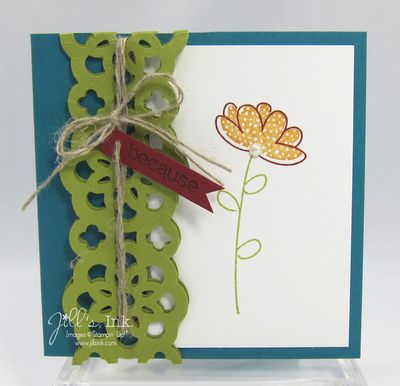Raining Flowers Gift Card