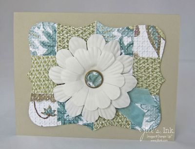 Paper Daisies Top Note Card