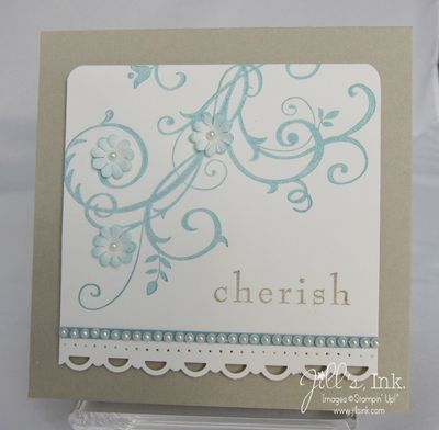 Baroque Motifs Wedding Card 3