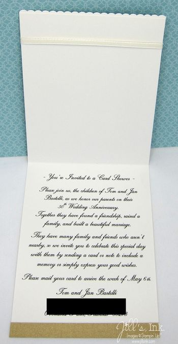 50th Wedding Gift Etiquette : Etiquette For 60th Anniversary Invitations Ehow Party Invitations ...