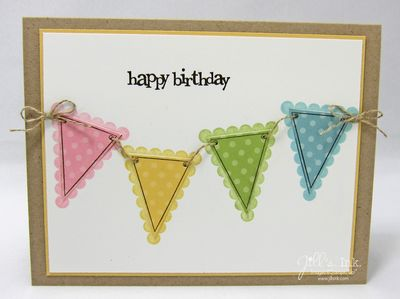 Party This Way Fem Birthday Card 2