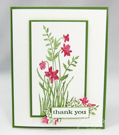 Just Believe Thank You Card