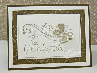 Priceless Butterfly Card 4