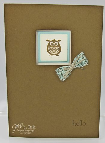 Aviary Spice Cake Card