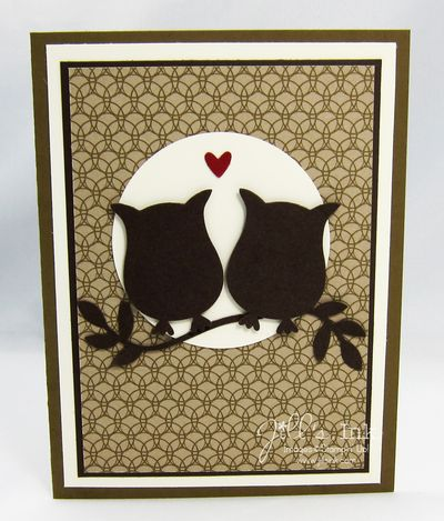 Wise Old Owls Anniversary Card
