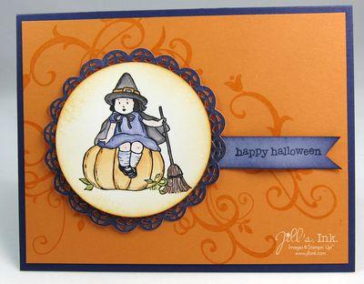 Greeting Card Kids - Halloween 001