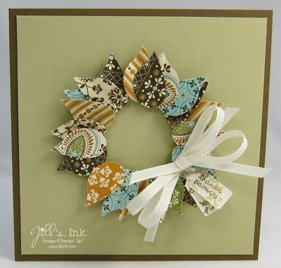 Spice Cake Wreath Card 004