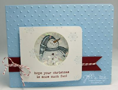 Snow Much Fun Shaker Card2