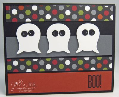 Punch Art Ghost Card 003