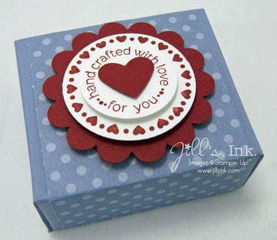 Valentine Ghirardelli Chocolate Box 004