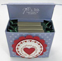 Ghirardelli Chocolate Box Open