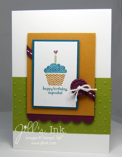 Patterned Occasions Cupcake