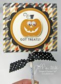 Halloween Treats Class - Sucker