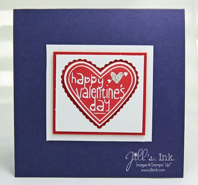 Valentine Card Eggplant