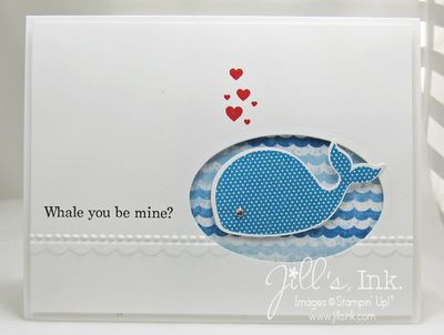 Oh Whale Embossed Valentine lighter