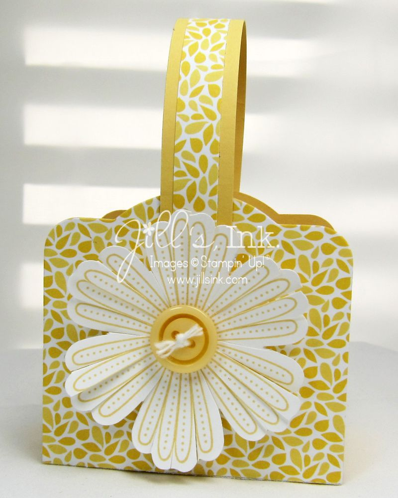 Floral District Two Tags Basket 004