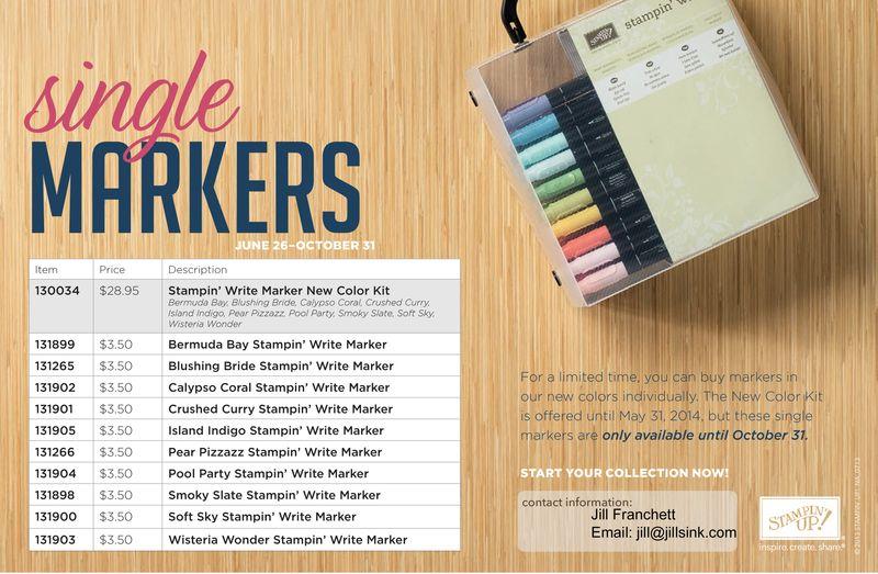 Single Markers Flyer