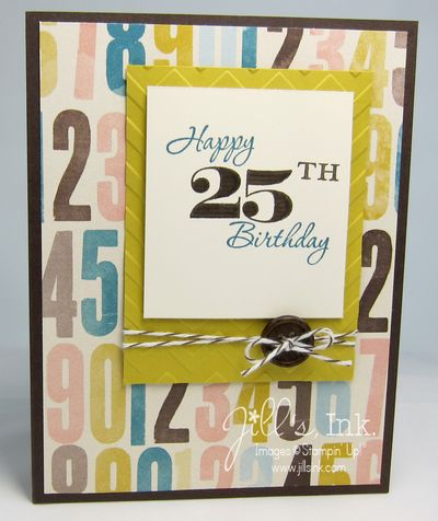 Memorable Moments 25th Birthday Card