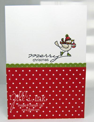 For the Birds Christmas Card