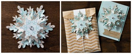 Festive Flurry Ornament Kit Images