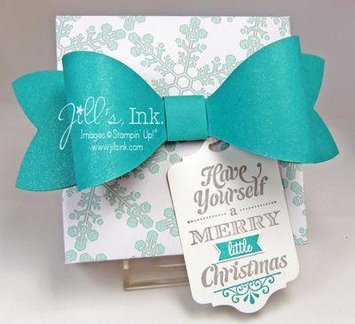 Winter Frost Punch Board Gift Box