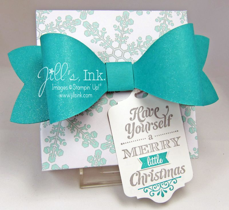 Winter Frost Punch Board Gift Box