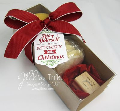 Christmas Tag a Bag Gift Box 2