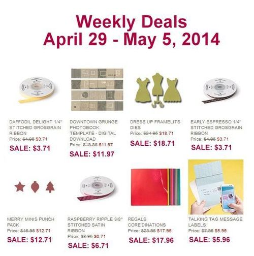 Weekly Deals April 29