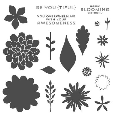 Flower Patch Stamp Set Image