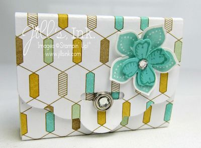 Scallop Tag Topper Post-it Holder 003
