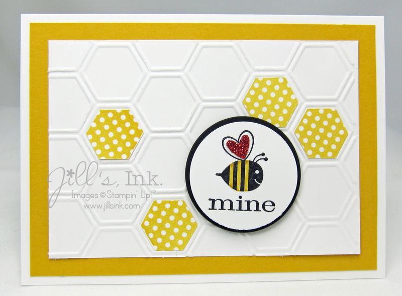 January Make n Take Card - Be Mine