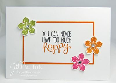 Petite Petals Happy Card 006