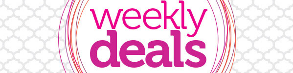 Weekly Deals Header Image