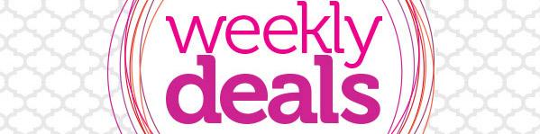 Weekly Deals Header Image