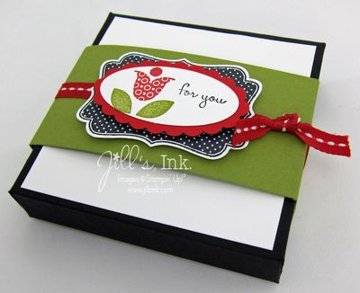 Envelope Punch Board Card Box 1