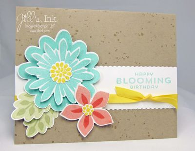 Happy Bloomin' Birthday Card