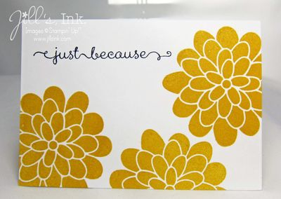 Flower Patch Q&E Card