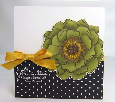 Blended Blooms Card