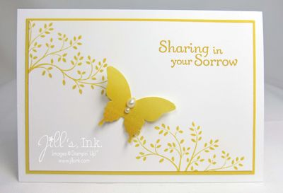 Thoughts & Prayers Butterfly Card