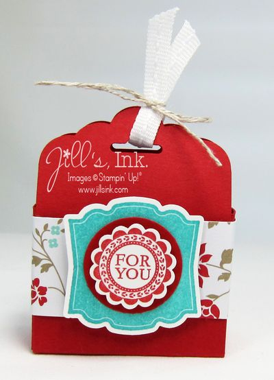Fresh Prints Tag Topper Punch Box