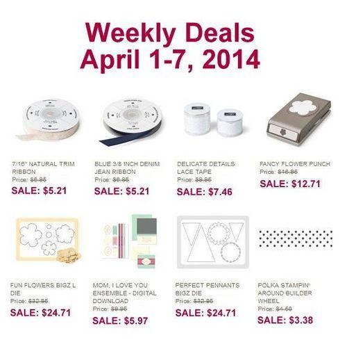 Weekly Deals April 1