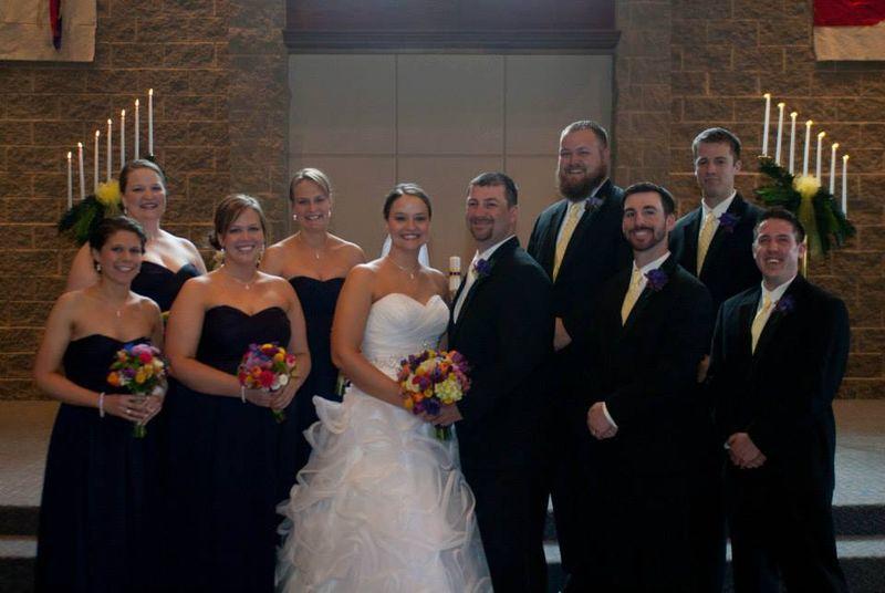 Mike & Ashley's Wedding - wedding party