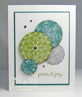 All is Calm Circle Card