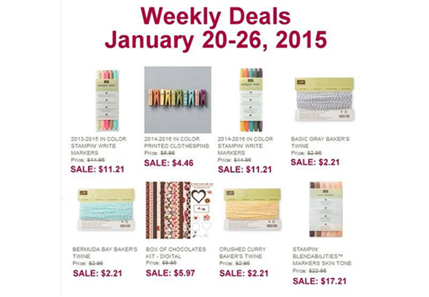 Weekly Deals Jan 20