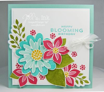 Flower Patch Birthday Card 005