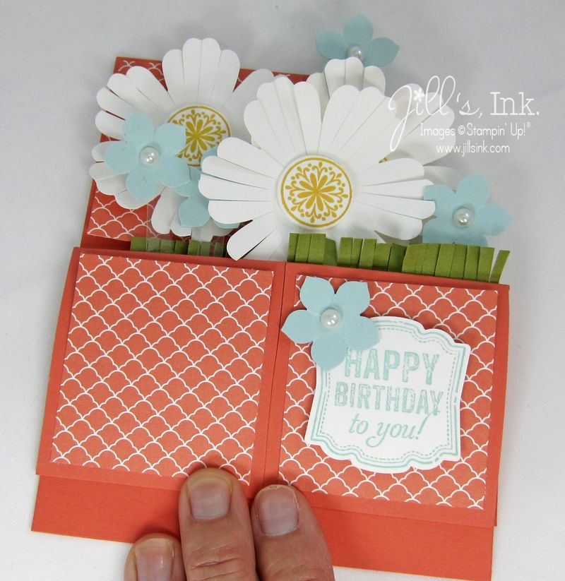 Mixed Bunch card in a box folded