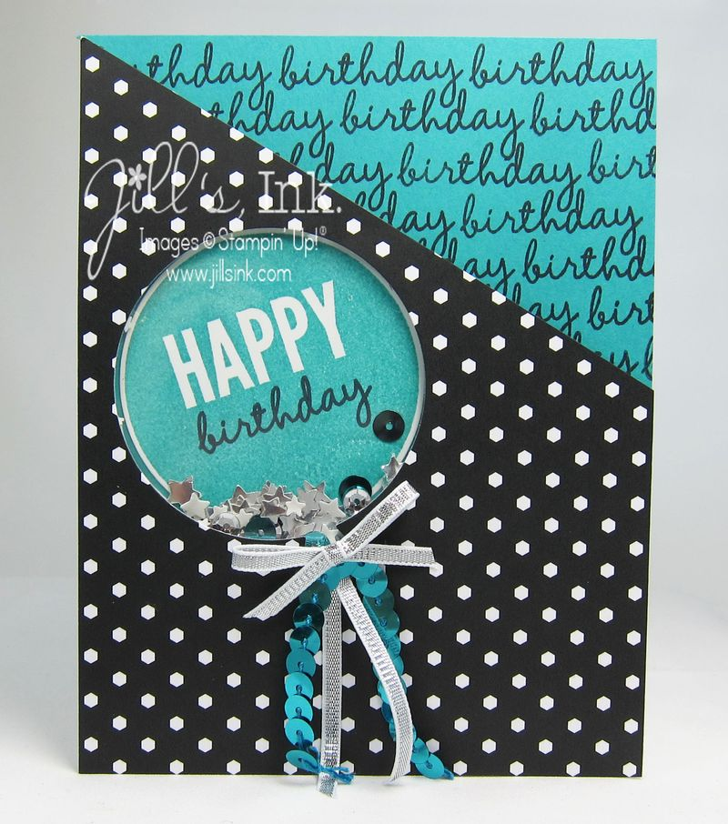 Celebrate Today Shaker Card 013
